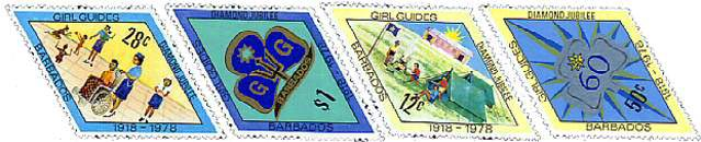 Barbados stamps