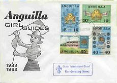 1968 Anguilla post card