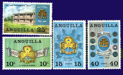 1968 Anguilla stamps