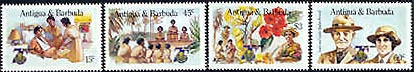Antigua-Barbuda stamps