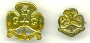 Australia Girl Guide pins