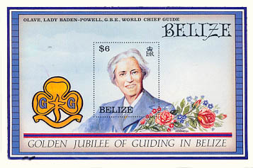 Belize stamp 1960