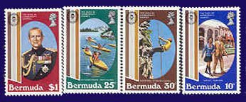 Bermuda Girl Guide stamps