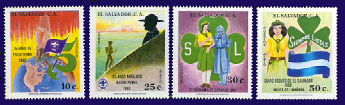 El Salvador stamps 1982