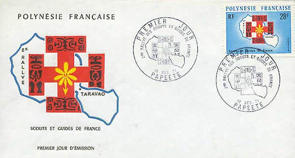 French Polynesia Girl Guide FDC