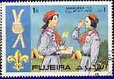 Fujiera Girl Guide stamps 1971